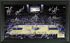 Memphis Grizzlies Team Signature Framed Picture