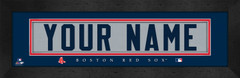 Boston Red Sox Personalized Jersey Nameplate