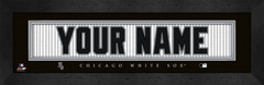 Chicago White Sox Personalized Jersey Nameplate