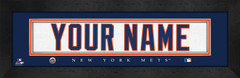 New York Mets Personalized Jersey Nameplate