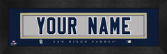 San Diego Padres Personalized Jersey Nameplate