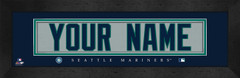 Seattle Mariners Personalized Jersey Nameplate