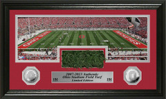 Ohio Stadium Field Turf and Coin Limited Edition