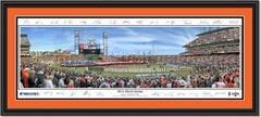 San Francisco Giants 2014 World Series Framed Picture With Signatures