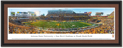 Arizona State University Sun Devil Stadium Framed Print