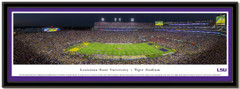Louisiana State University Tiger Stadium Framed Picture matted