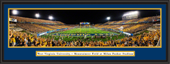 WVU Mountaineer Big 12 Opener Framed Panoramic Poster