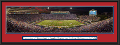 Mississippi Vaught-Hemingway Stadium Framed Panoramic Picture