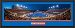 Boise State Bronco Stadium Framed End Zone Picture