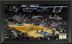 Minnesota Timberwolves Team Signature Framed Picture