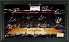 Phoenix Suns Team Signature Framed Picture