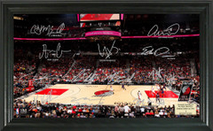 Portland Trail Blazers Team Signature Framed Picture