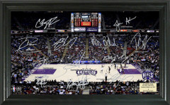 Sacramento Kings Team Signature Framed Picture
