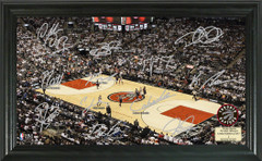 Toronto Raptors Team Signature Framed Picture