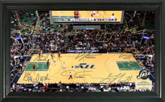 Utah Jazz Team Signature Framed Picture