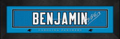 Carolina Panthers Player Signature Jersey Prints