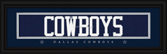 Dallas Cowboys signature player jersey prints