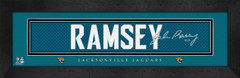 Jacksonville Jaguars Player Signature Jersey Prints