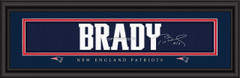 New England Patriots signature player jersey prints