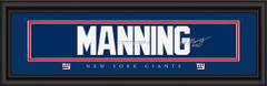 New York Giants signature player jersey prints