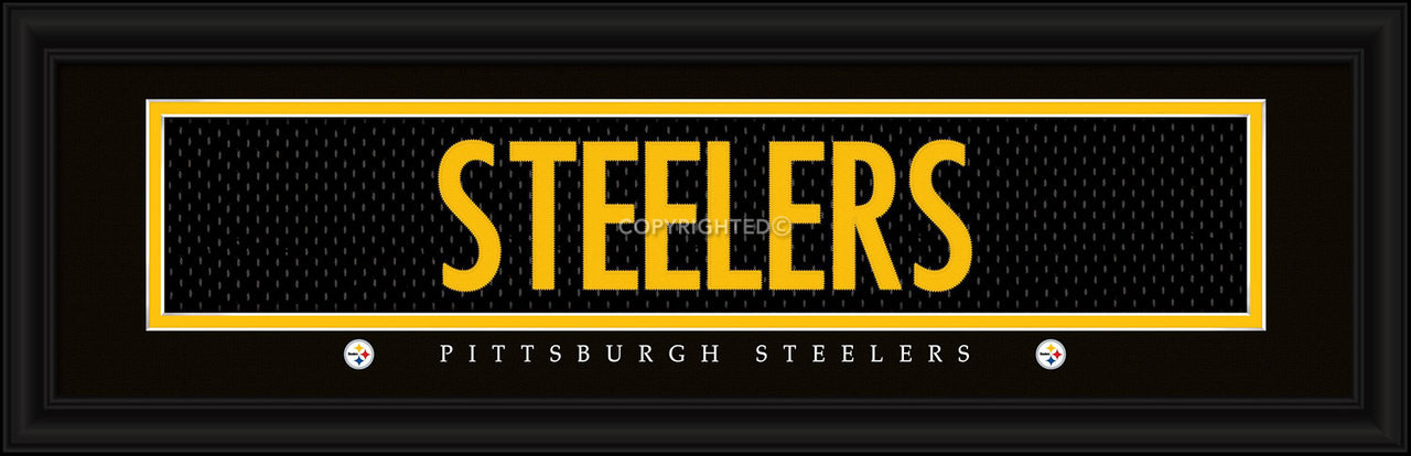 Pittsburgh Steelers Player Signature Jersey Prints 21e38a953