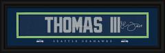 Seattle Seahawks signature player jersey prints