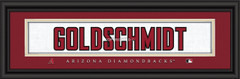 Arizona Diamondbacks signature player jersey prints