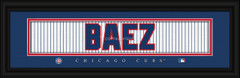 Chicago Cubs signature player jersey prints