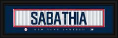 New York Yankees Player Signature Jersey Prints