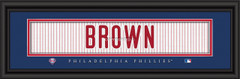Philadelphia Phillies Player Signature Jersey Prints