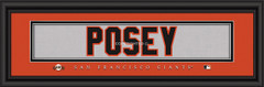 San Francisco Giants Player Signature Jersey Prints
