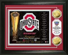 OSU 2014 College Football Playoff Sugar Bowl Gold Coin Photo Mint