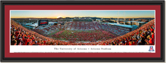 Arizona Stadium Home of the Arizona Wildcats Framed Poster matted