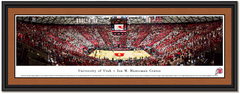 Utah Runnin' Utes Framed Basketball Poster