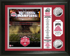 Ohio State 2014 National Champions Coin Photo Mint