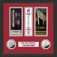 Ohio State 2014 National Champions Coin Ticket Collection
