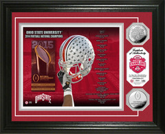 Ohio State 2014 National Champions Silver Coin Photo Mint