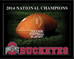 2014 National Champions Ohio State Buckeyes Framed Picture no mat