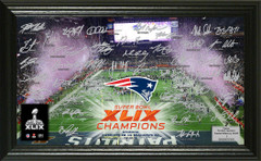 Super Bowl XLIX Champions Celebration Signature Photo