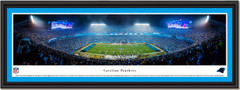 Carolina Panthers Bank of America Stadium Night Framed Picture