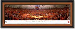 Illinois Basketball Orange Out at State Farm Center Framed Picture
