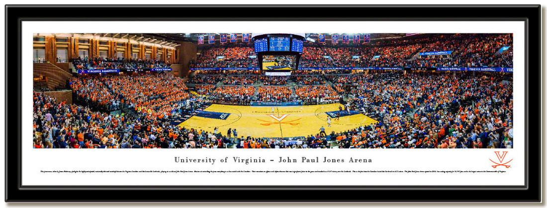 Virginia John Paul Jones Arena Framed Picture no mat