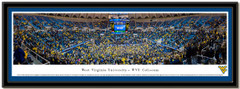 WVU Coliseum vs Kansas Home Victory Framed Picture matted