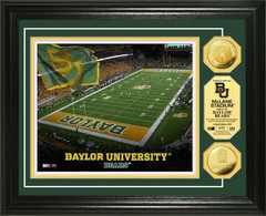 Baylor University McLane Stadium Collectible Coins and Print