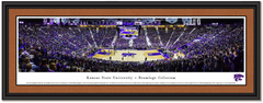 Kansas State Defeats Kansas Sunflower Showdown Framed Print matted