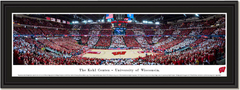 Kohl Center Wisconsin Badgers Basketball Panoramic Print
