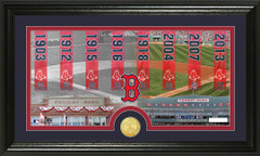 Boston Red Sox World Series Banners and Photo Mint