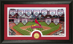 St Louis Cardinals World Series Banners and Photo Mint