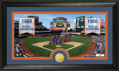 New York Mets World Series Banners and Photo Mint