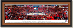 Arizona Wildcats McKale Center Basketball Framed Picture